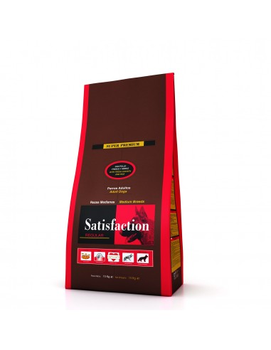 Satisfaction Regular Medium Adulto Satisfaction Alimentação Seca para Cães