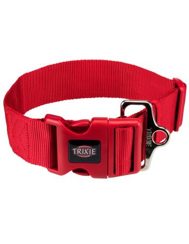 Coleira para Cão Premium  (M-L) 40-60 Cm / 50 Mm (Vermelho) | Coleiras para Cães | Trixie