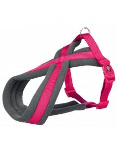 Peitoral para Cães Premium Touring  (Xs-S) 30-40 Cm / 15 Mm (Fuchsia) | Peitoral para cães | Trixie