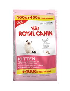 Royal Feline Kitten 400+400gr Grátis