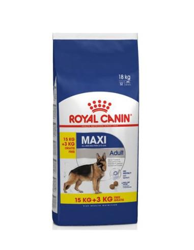 Royal Canin Maxi Adult 15+3kg Grátis, Alimento Seco Cão   Ração Seca para Cães   Royal Canin