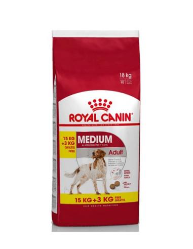 Royal Canin Medium Adult 15+3kg Grátis, Alimento Seco Cão   Ofertas Especiais para Cães   Royal Canin
