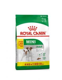 Royal Canin Mini Adult 8 +1kg Grátis