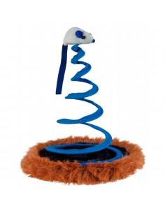 Brinquedo para gato Base c/Rato em Mola | Gatos | Trixie