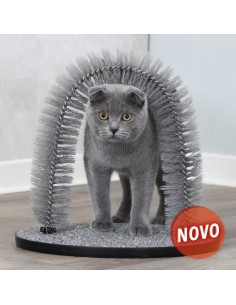 Massajador para Gato em Arco/ Cuida do pêlo | Gatos | Trixie