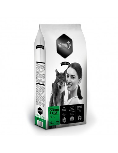 Ração Amity Premium para Gatos (Chiken & Rice) | Gatos | Amity
