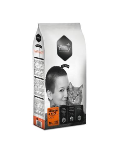 Ração Amity Premium para Gatos (Salmom & Rice)   Gatos   Amity