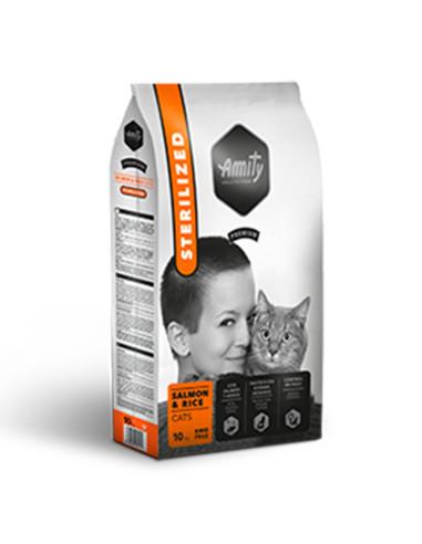 Ração Amity Premium para Gatos Esterilizados (Salmon & Rice) | Gatos |