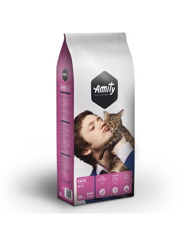 Ração Amity Eco Line Cats Mix 20KG | Gatos | Amity