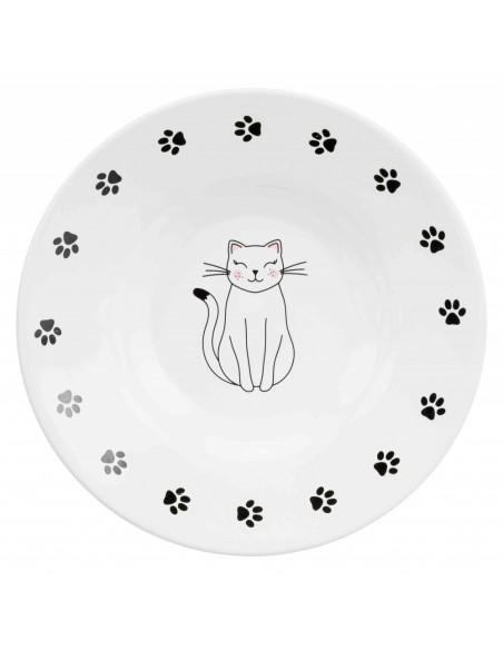 Comedouro para Gatos de Raça Focinho Curto (Cerâmica) | Gatos | Trixie