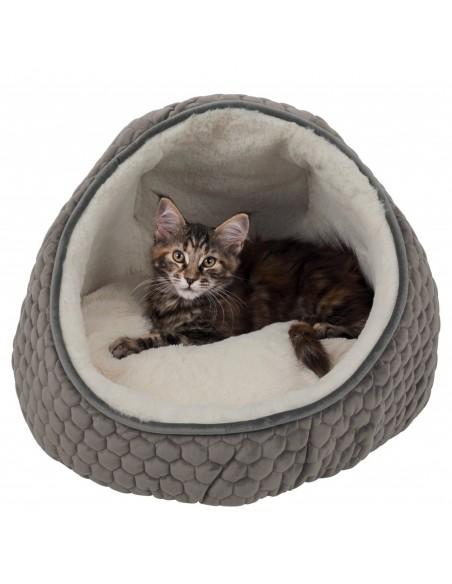 Cama para Gatos Gruta Livia (Caqui)   Gatos   Trixie