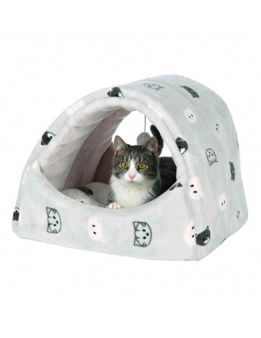 Cama para Gatos Gruta Mimi (Cinzenta)   Gatos   Trixie