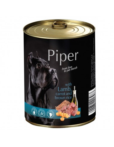 Piper Ração Húmida com Borrego Cenora e Arroz   Cães   Piper