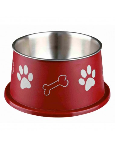 Comedouro para Cães 'Orelhas Grandes' (inox/plástico)   Cães   Trixie