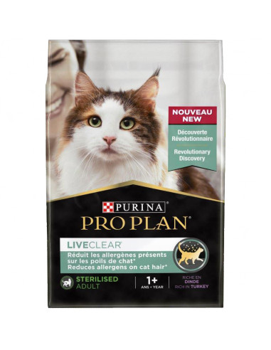 Pro Plan LiveClear para Gato Sterilised