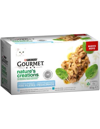 Gourmet Nature`s Creations 4x85gr   Petshop   Gourmet