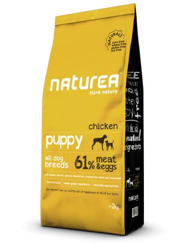 Naturea Puppy Chicken   Naturals   Ração para Cachorro   Naturea