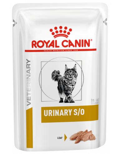 Royal Canin Urinary Gato S/O Loaf, Alimento Húmido   Ração Urinary Gatos   Royal Canin Veterinary