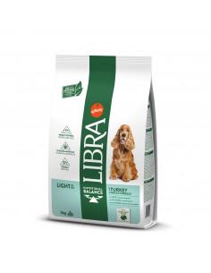 Libra Cão Light com Peru e Cereais Integrais | Ração Seca para Cães | Libra