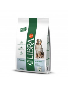 Libra cão sénior +7 anos | Ração Seca para Cães | Libra