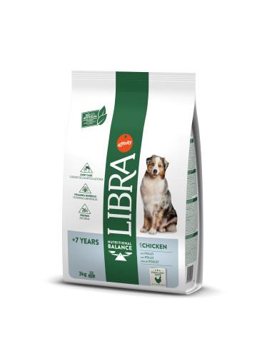 Libra cão sénior +7 anos   Ração Seca para Cães   Libra