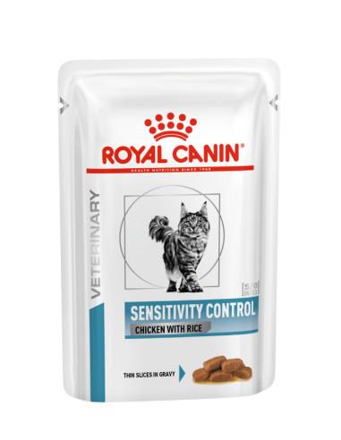 Royal Canin Sensitivity Control Gato, Alimento Húmido | Ração hipoalergenica gato | Royal Canin Veterinary