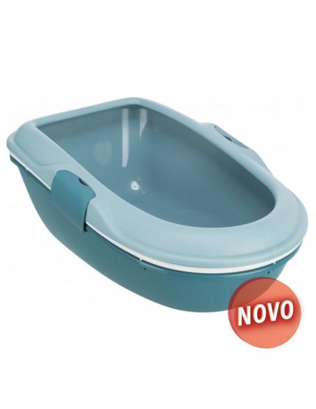 Caixa de Areia para Gato com Crivo (azul claro/petróleo) | Caixa de areia para gatos | Trixie