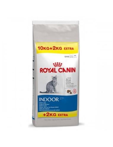 Royal Canin Indoor 10+2kg Grátis, Gato, Alimento Seco   Ração Gatos Sensíveis   Royal Canin