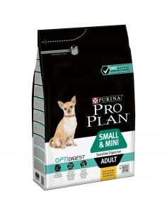 Pro Plan Small & Mini Adult Digestion com Optidigest Pro plan Alimentação Seca para Cães