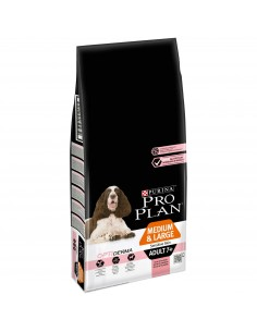 Pro Plan Medium & Large Adult 7+ Sensitive Skin com Optiderma Pro plan Alimentação Seca para Cães