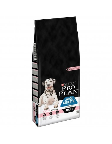 Pro Plan Large Athletic Sensitive Skin Optiderma com Salmão