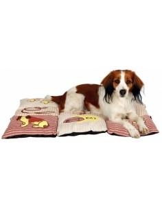 Almofada Patchwork 80x55Cm Trixie Cama para cães