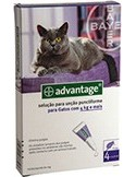 Advantage Gatos mais 4kg Advantage Desparasitantes