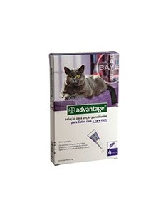 Advantage Gatos mais 4kg