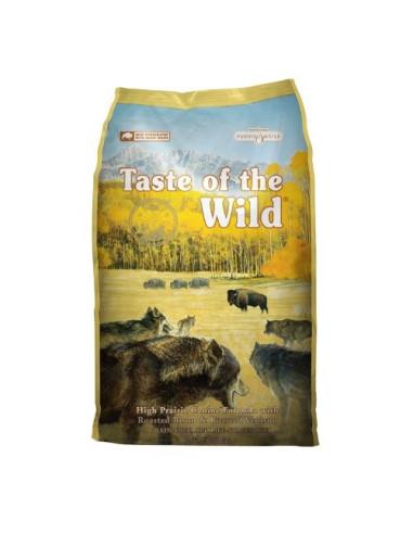 Taste of the Wild Canine High Prairie com Bisonte Taste of the Wild Alimentação Sem Cereais
