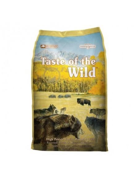 Taste of the Wild Canine High Prairie com Bisonte