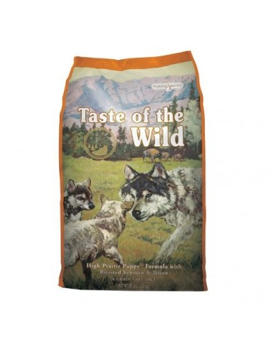 Taste of the Wild Canine High Prairie Puppy com Bisonte Taste of the Wild Ração para Cães