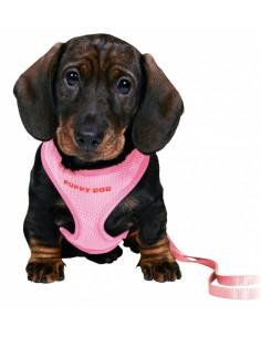 Peitoral para cães + trela Trixie Trelas de Nylon e outros materiais resistentes
