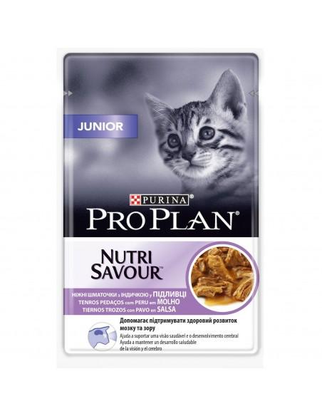 Purina PRO PLAN Nutrisavour Junior com Peru