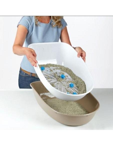 Toilete wc Berto Top com Sistema de Separação de Resíduos Trixie Caixas de Areia e Limpeza