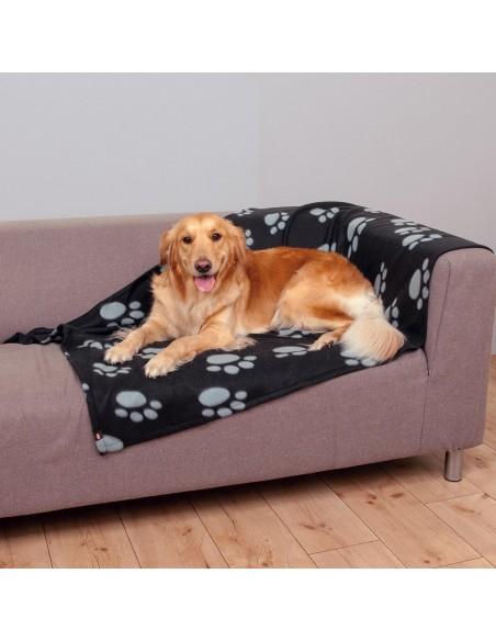 Manta Barney Preto/Cinza | Manta para Cães | Trixie