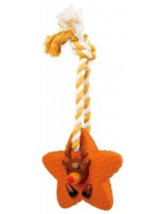 Corda com estrela em Latex 33cm