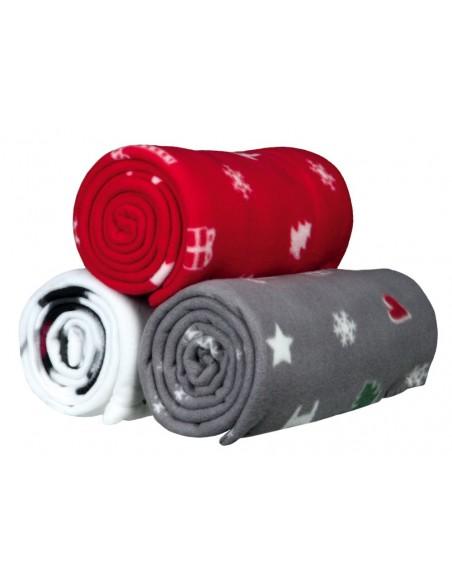Manta Natalícia Yuki 150x100cm Vermelho Trixie Sugestões de Natal