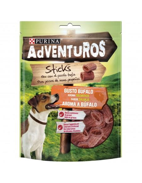 Snack Purina Adventuros Mini Sticks 90 gr