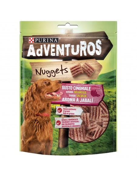 Snack Purina Adventuros Nuggets 90gr