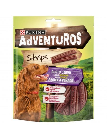 Snack Purina Adventuros Strips 90gr