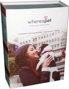 Wherespet - Localizador Gps para animais Coleiras para Cães