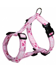 Peitoral para cães Modern Art Rose Heart Trixie Peitoral para cães