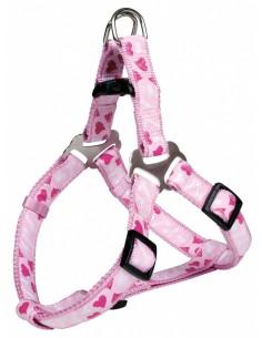 Peitoral para cães Step In Modern Art Rose Heart Trixie Peitoral para cães