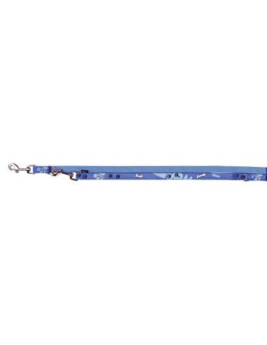Trela ajustável Modern Art Woof Trixie Trelas de Nylon e outros materiais resistentes